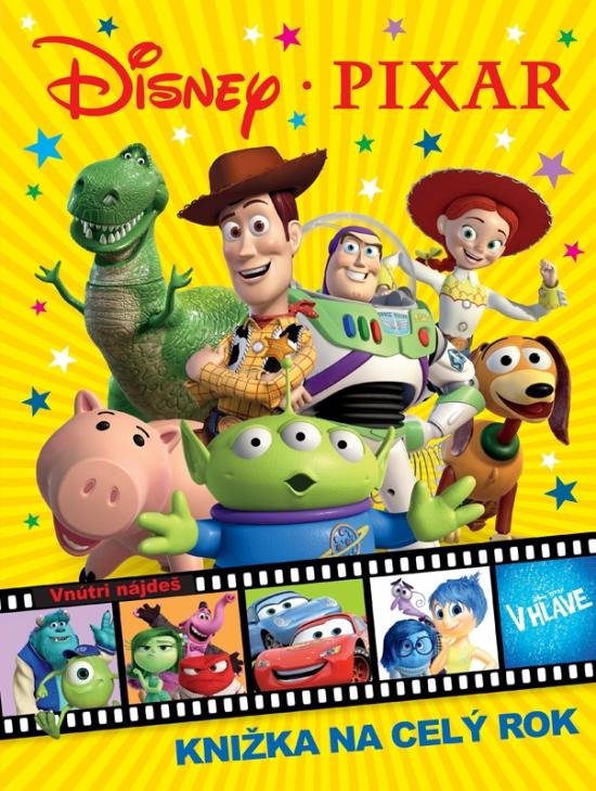 Disney Pixar - Knižka na celý rok 2016