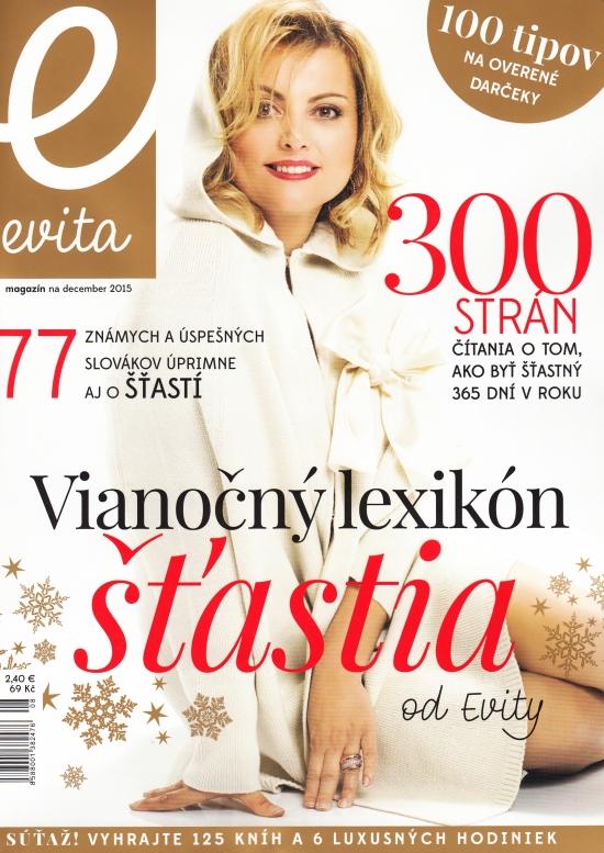 Evita magazín 12/2015
