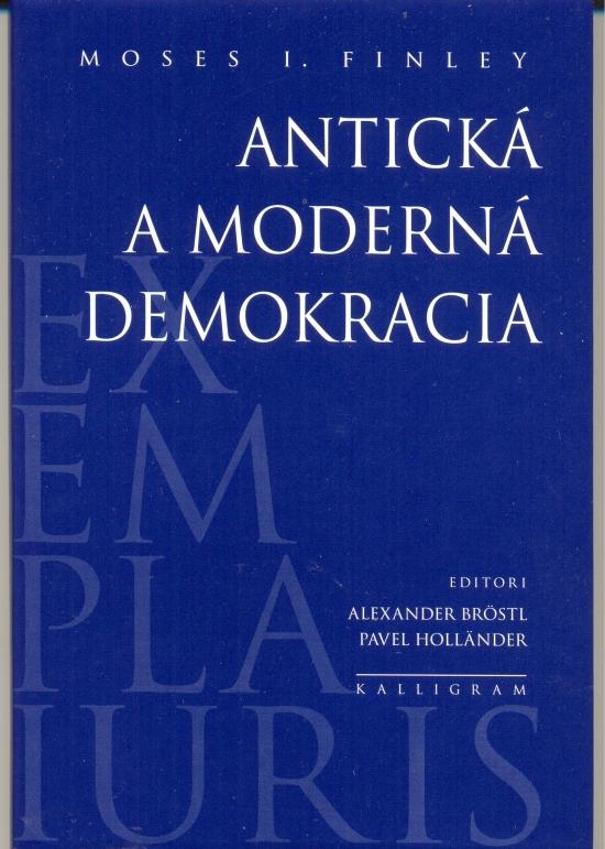 Antická a moderná demokracia