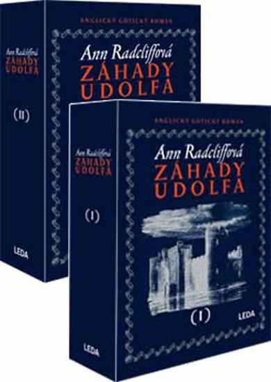 Záhady Udolfa (1&2 díl v dárkové kazetě) - Ann Radcliffová