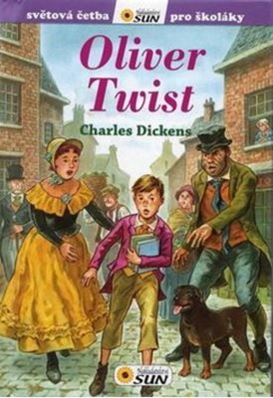 Oliver Twist - Světová četba pro školáky - Charles Dickens