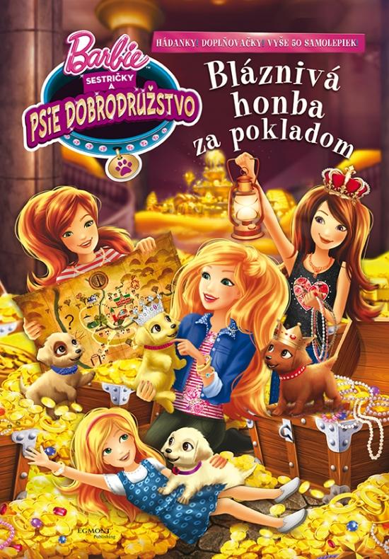 Barbie-Sestričky a psie dobrodružstvo-Bláznivá honba za pokladom