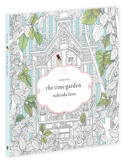 Omalovánky Zahrada času - Daria Song