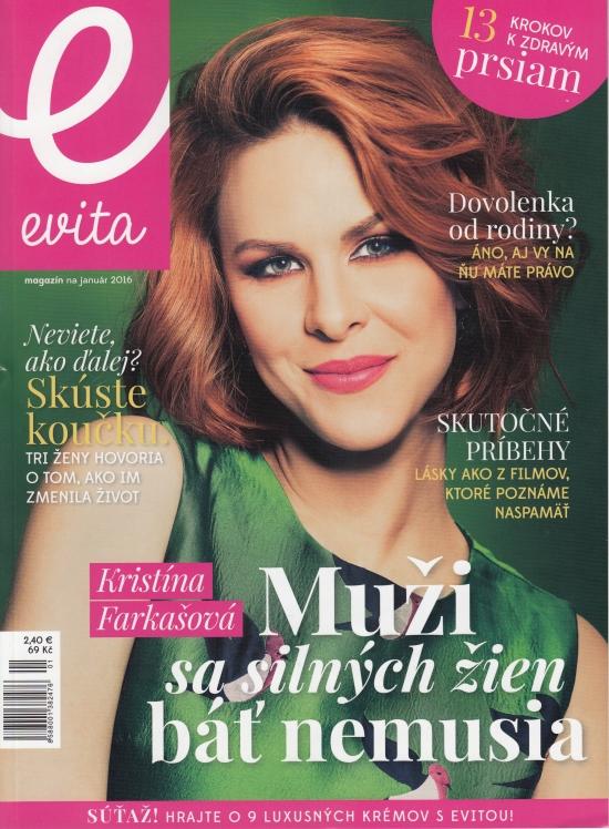 Evita magazín 01/2016