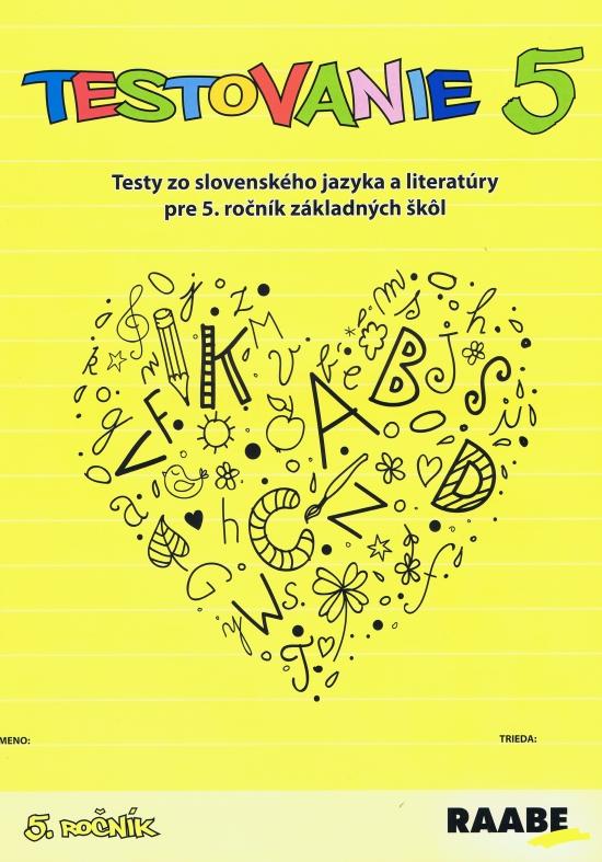 Testovanie 5-Slovenský jazyk a literatúra pre 5.ročník