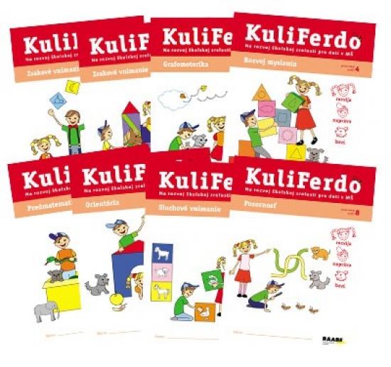 Kuliferdo - na rozvoj školskej zrelosti pre deti v MŠ