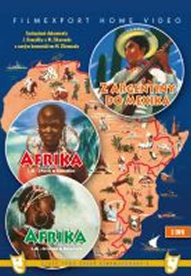 Afrika 1.+ 2. díl + Z Argentiny do Mexika - 3 DVD (digipack)