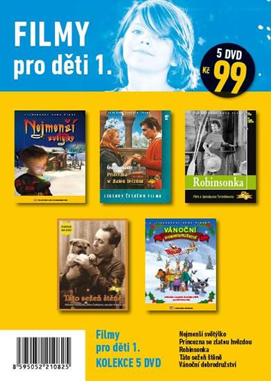 Filmy pro děti 1. – 5 DVD