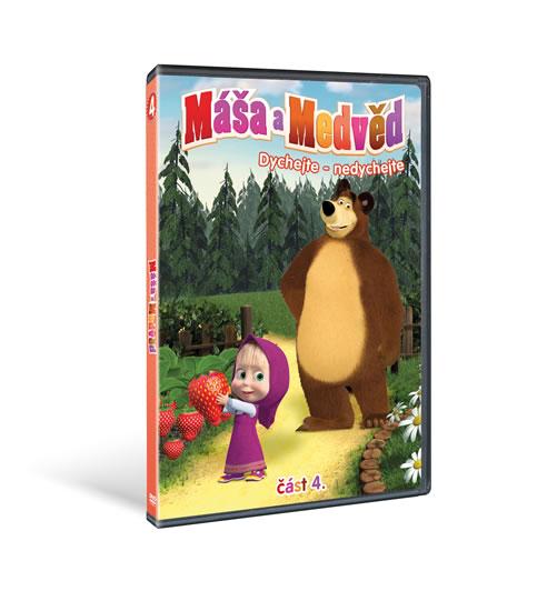 Máša a medvěd - Dýchejte - nedýchejte - DVD (část čtvrtá)
