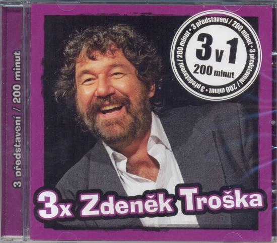3x Zdeněk Troška - CDmp3