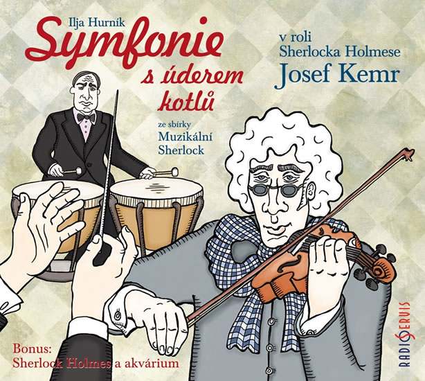 Symfonie s úderem kotlů ze sbírky Muzikální Sherlock - CD - Ilja Hurník