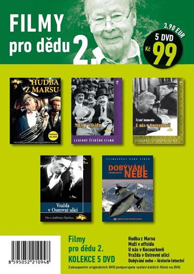 Filmy pro dědu 2. - 5 DVD pošetka