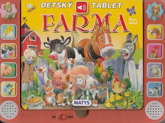 Detský tablet FARMA - zvuková knižka