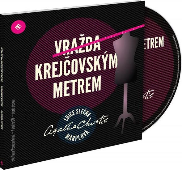 Vražda krejčovským metrem - 1audio CD (čte jana Hermachová) - Agatha Christie
