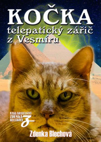 Kočka telepatický zářič z Vesmíru - Zdenka Blechová