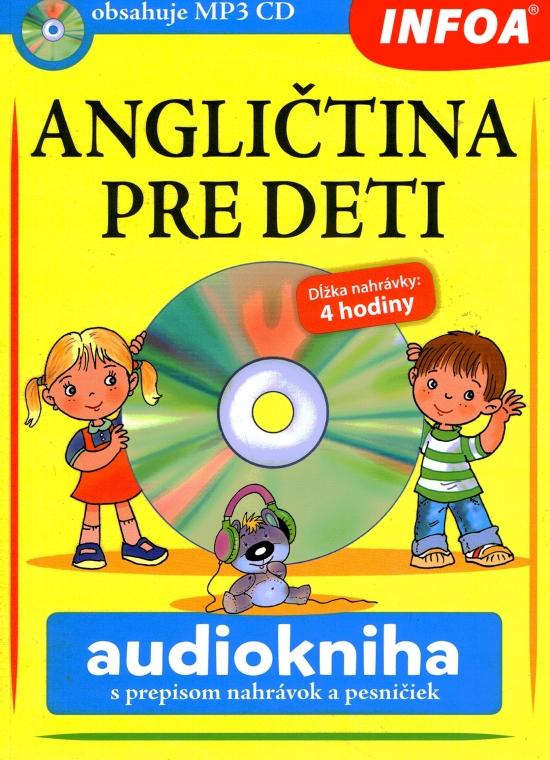 Audiokniha - Angličtina pre deti