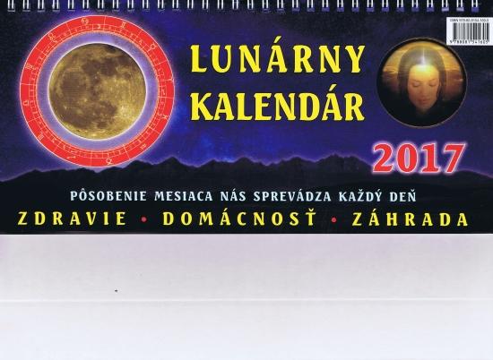 Lunárny kalendár 2017 - stolový
