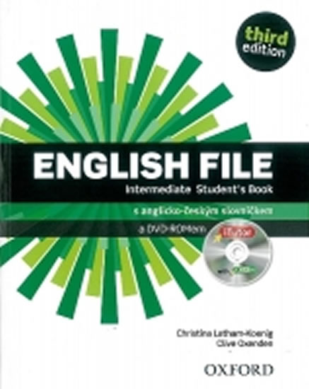 English File Third Edition Intermediate Student´s Book with iTutor DVD-ROM CZ - Clive Oxenden