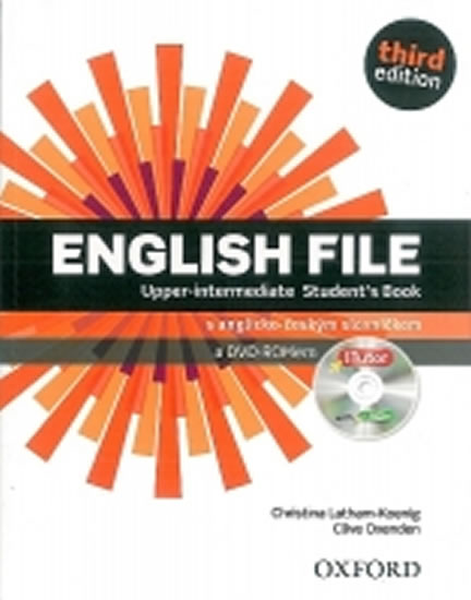 English File Third Edition Upper Intermediate Student´s Book with iTutor DVD-ROM CZ - Christina, Clive Oxenden, Latham-Koenig