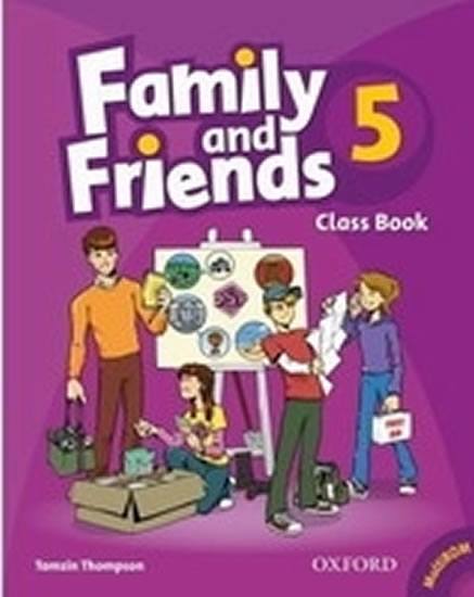 Family and Friends 5 Course Book with MultiRom Pack - H. Casey