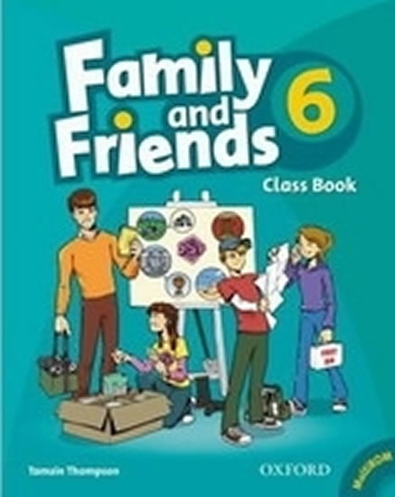 Family and Friends 6 Course Book with MultiRom Pack - T. Thompson