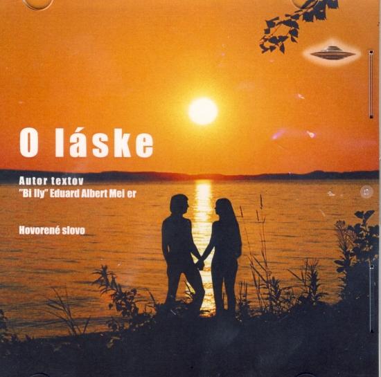 """CD - O láske - Albert Meier """"Billy"""" Eduard"""