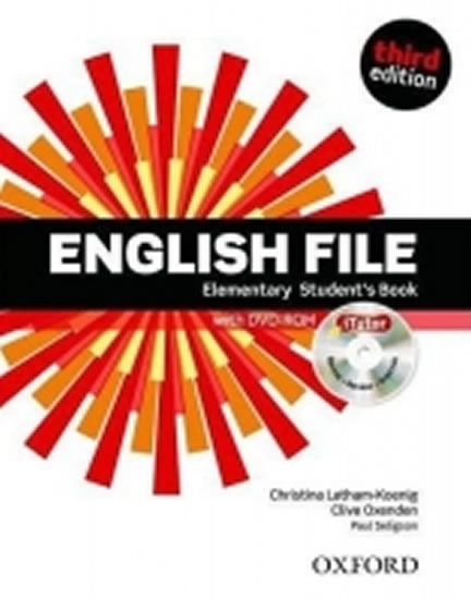 English File Third Edition Elementary Student´s Book with iTutor DVD-ROM CZ - Clive Oxenden