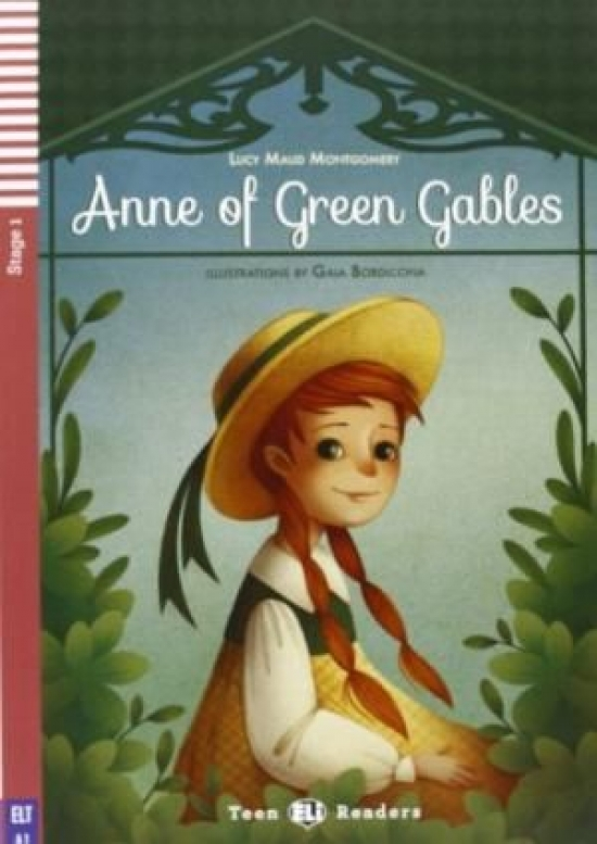 Anne of Green Gables + CD (A1) - Lucy Maud Montgomery