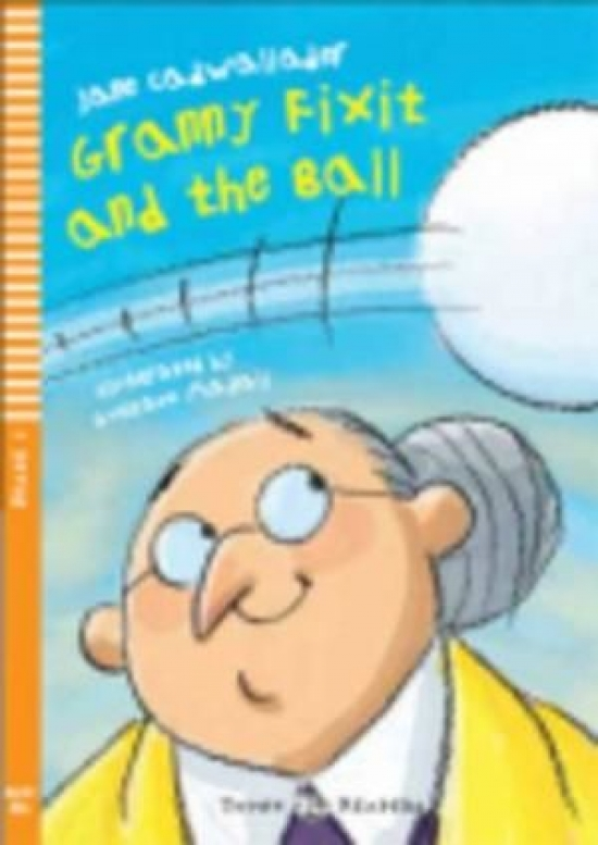 Granny Fixit and the ball (bellow A1) - Jane Cadwallader