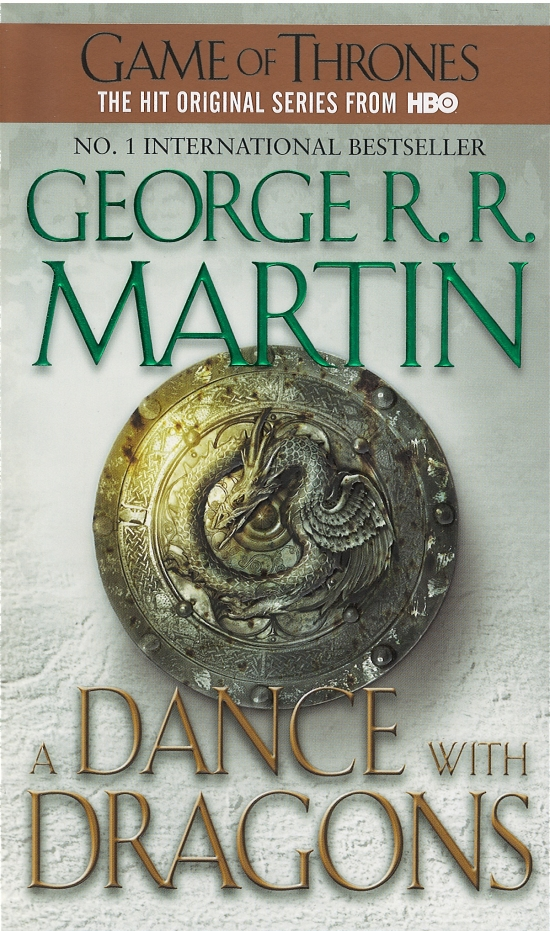 A Song of Ice and Fire-5 Dance with Dragons - George R. R. Martin