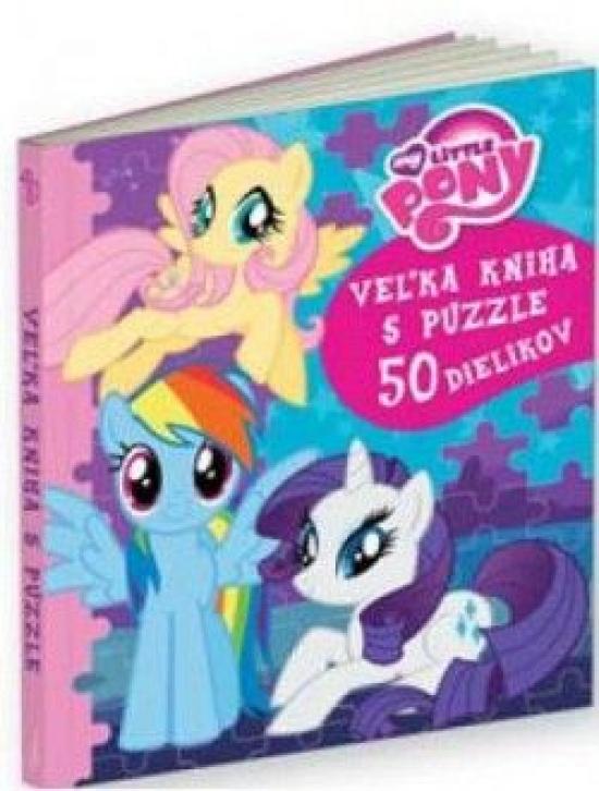My Little Pony Veľká kniha s puzzle