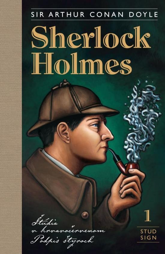 Sherlock Holmes 1: Štúdia v krvavočervenom, Podpis štyroch - Sir Arthur Conan Doyle