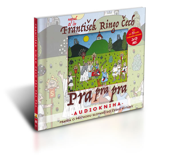 Pra pra pra - čte František Ringo Čech / Audiokniha 13 hod. 6 min. ( 2x disk MP3) - František Ringo Čech