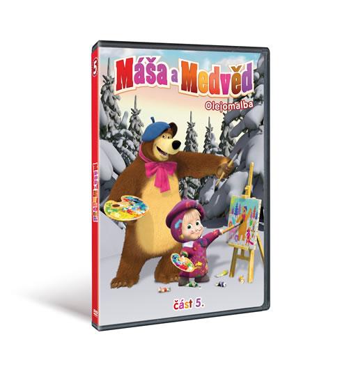 Máša a medvěd - Olejomalba - DVD