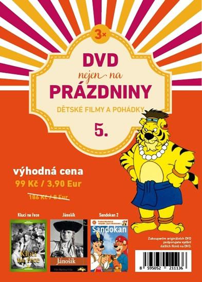 DVD nejen na Prázdniny 5. - Dětské filmy a pohádky - 3 DVD