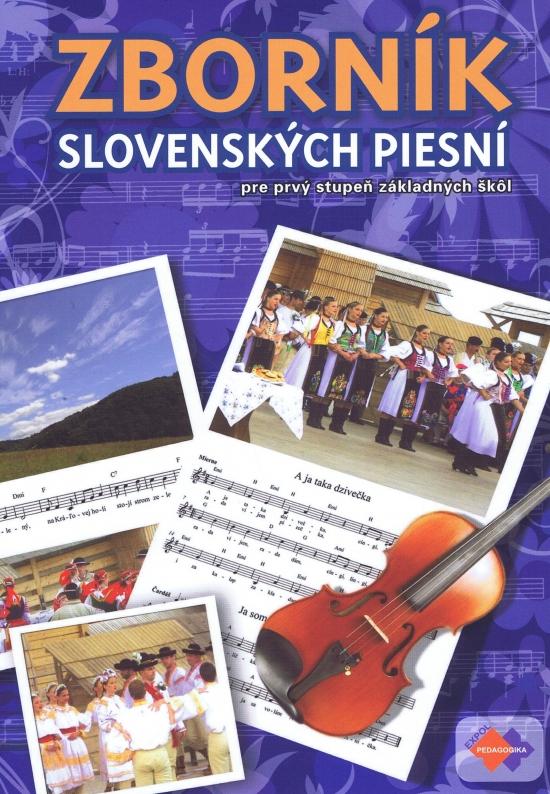 Zborník slovenských piesní pre 1. stupeň základných škôl +CD