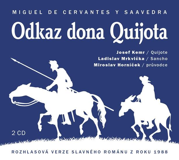 Odkaz Dona Quijota - 2CD - Miguel de Cervantes
