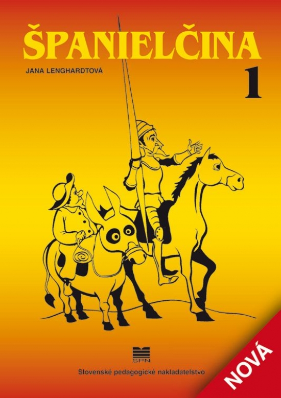 Španielčina 1, 2 - 8.vydanie - Jana Lenghardtová