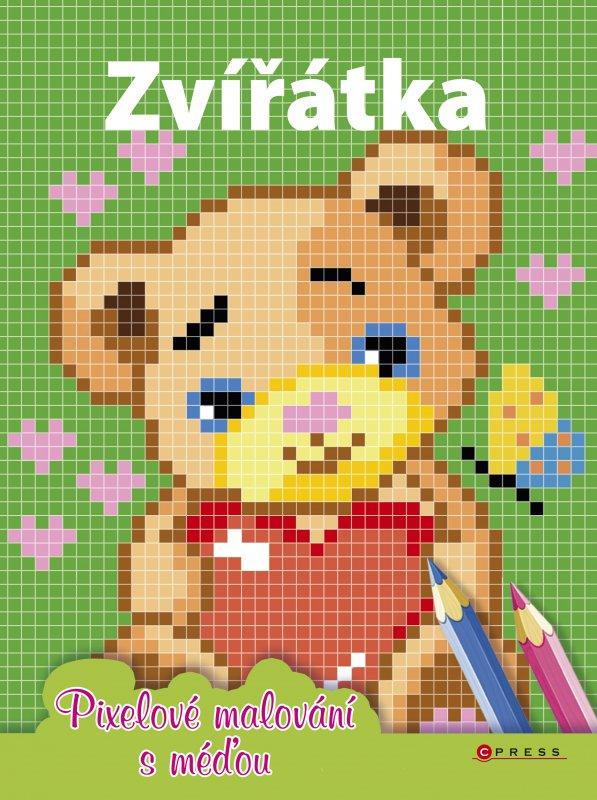 Zvířátka - Pixelové malování s méďou