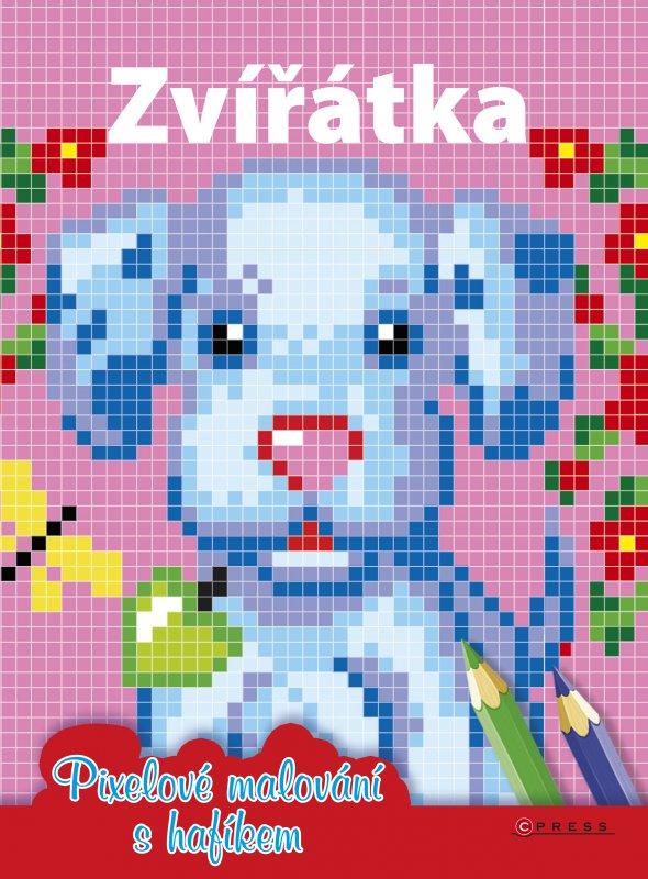Zvířátka - Pixelové malování s hafíkem
