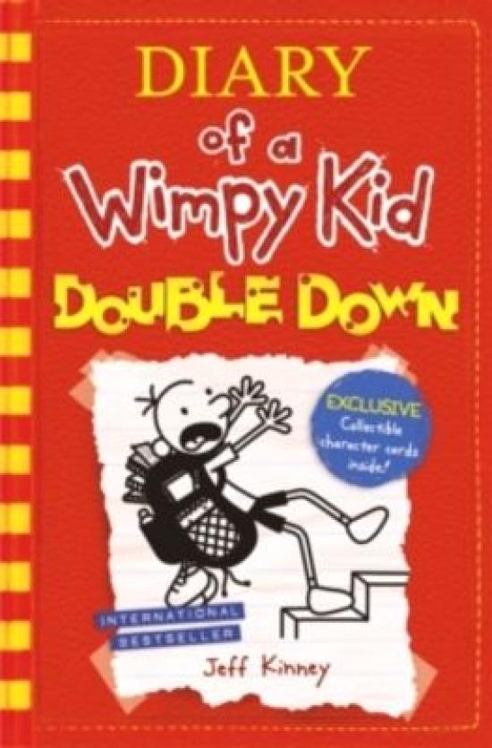 Diary of a wimpy kid 11 kinney jeff stojizatoe diary of a wimpy kid double down jeff kinney solutioingenieria Gallery
