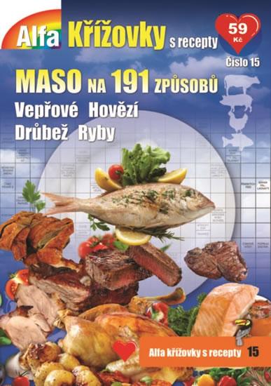 Křížovky s recepty 15 - Maso na 191 způsobů