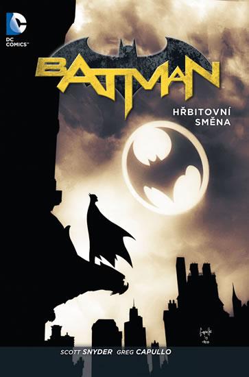 Batman - Hřbitovní směna brož.