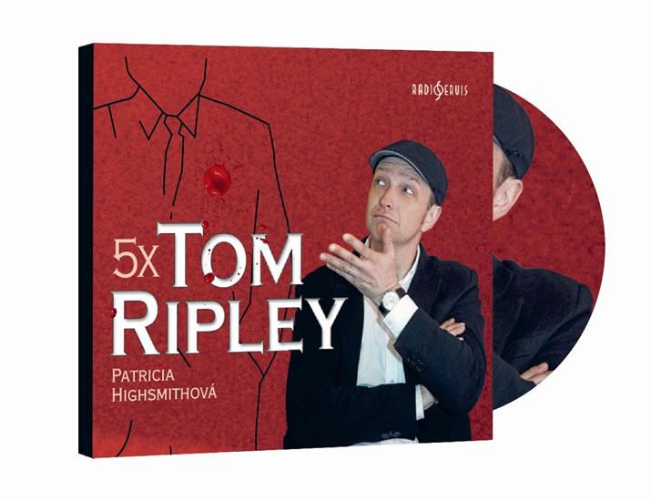 5x Tom Ripley - CDmp3 - Patricia Highsmithová