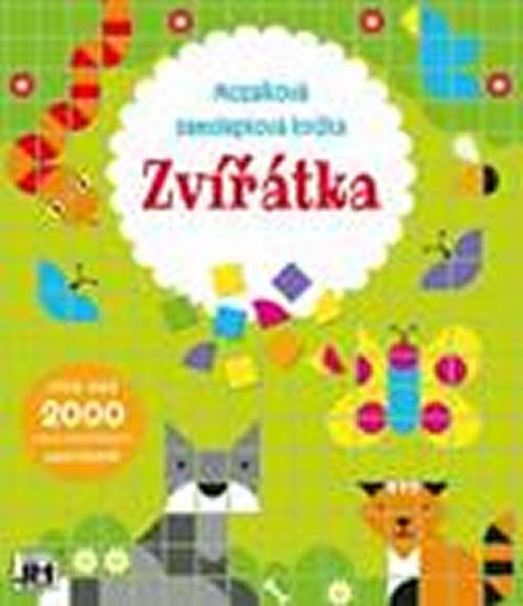 Zvířátka - Mozaiková samolepková knížka
