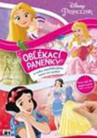 Princezny 2 - Oblékací panenky - Walt Disney