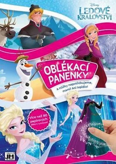 Ledové království - Oblékací panenky - Walt Disney