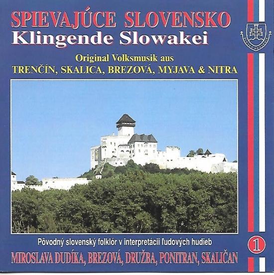 Ľudové piesne Západné Slovensko  – Spievajúce Slovensko 1