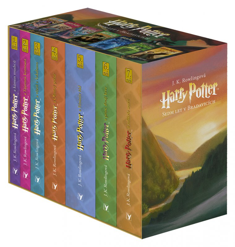Harry Potter box 1-7 - Joanne K. Rowlingová