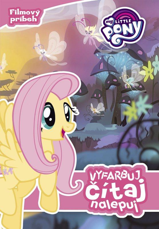 My Little Pony - Vyfarbuj, čítaj, nalepuj